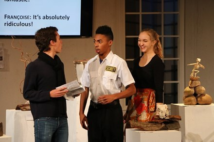 Upper School Play - Museum