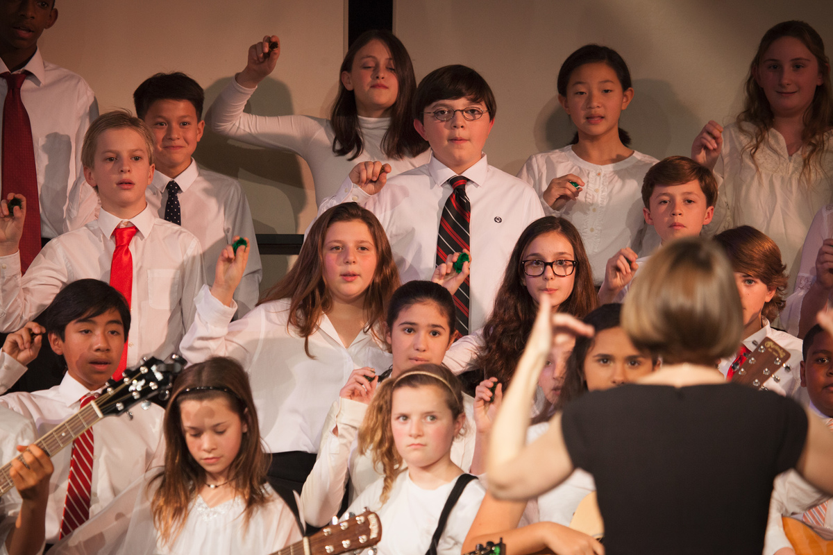 Middle School Choral and Guitar Concert