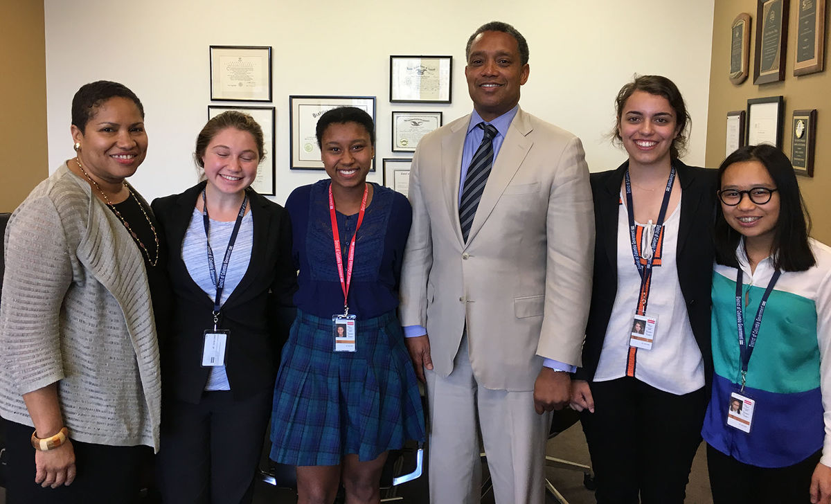 Seniors Work at the DC Attorney General's Office