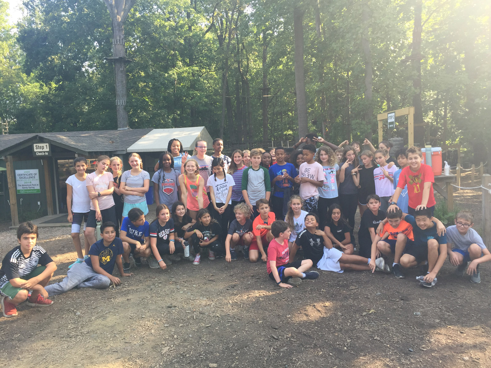 6th Grade at Adventure Park