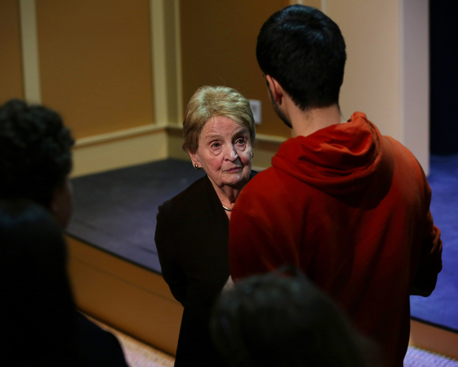 Upper School Assembly Speaker Dr. Madeleine Albright