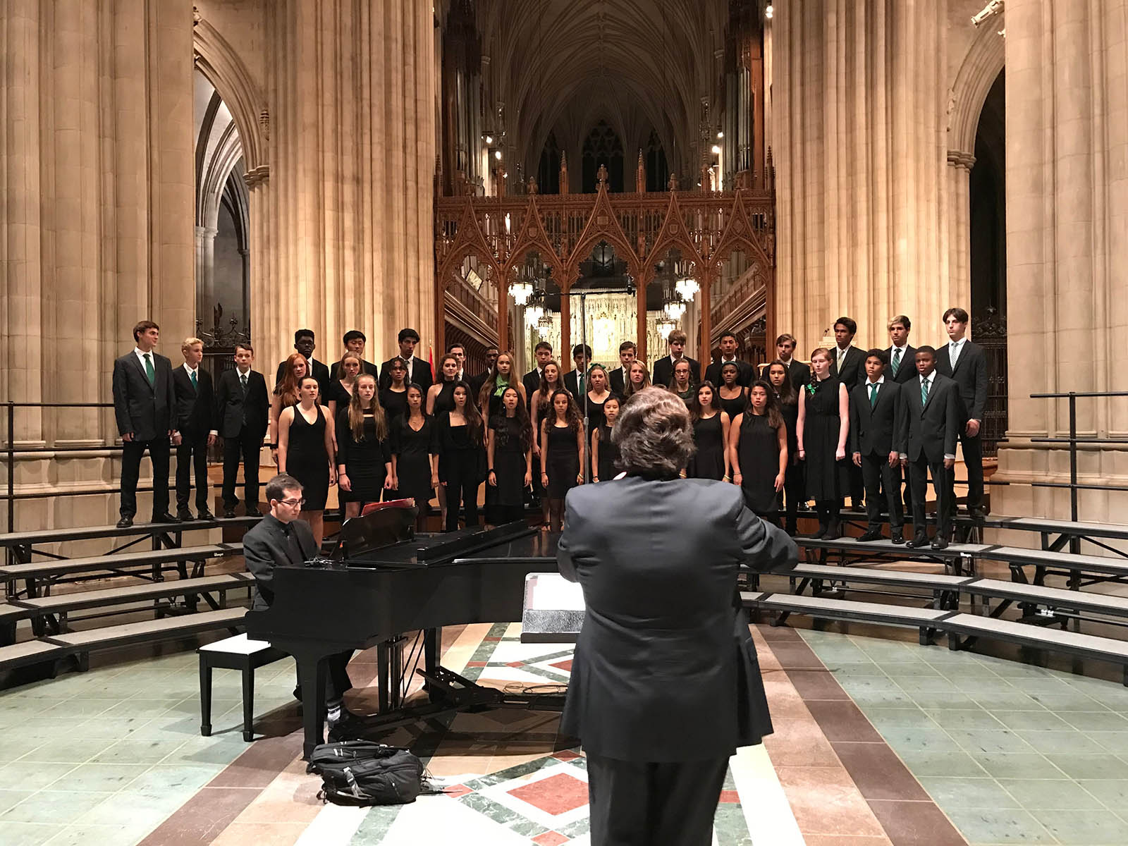 Maret Concert Choir Performs at the National Cathedral