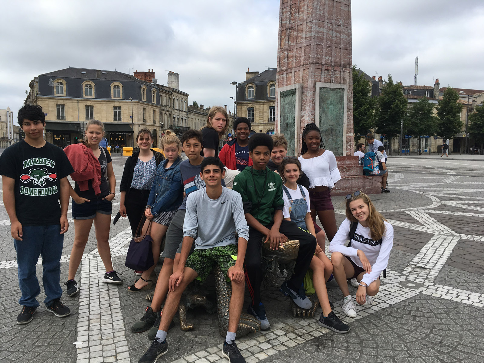 field trip to france