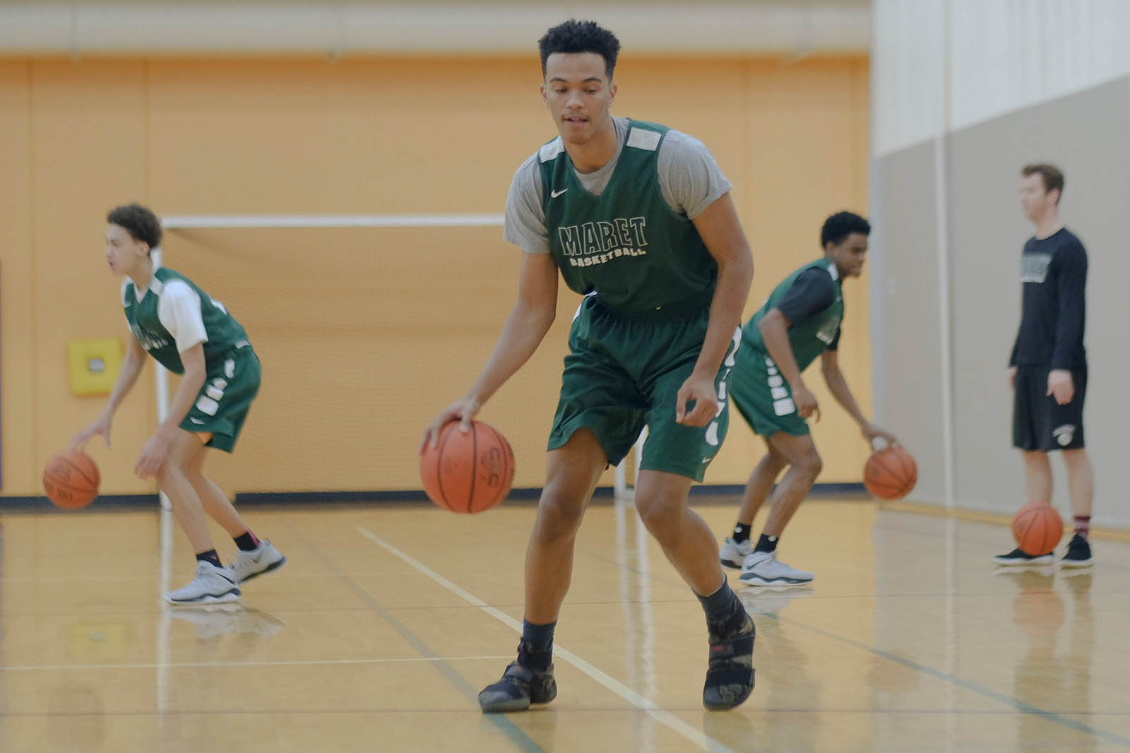 Maret Boys Basketball Featured in the New York Times