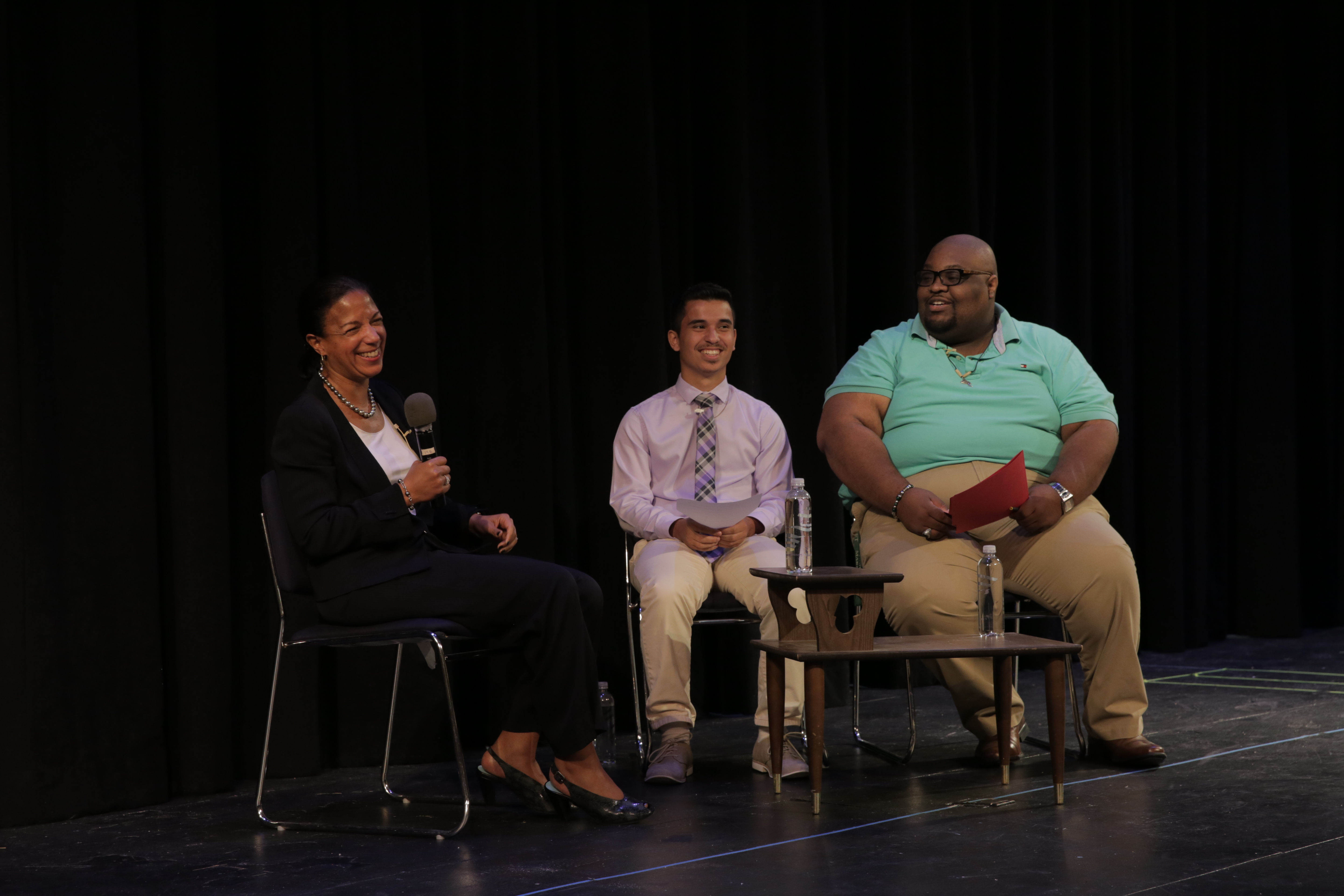 Susan Rice Speaks at Upper School Assembly
