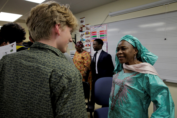 Ambassador of Niger visits French Students