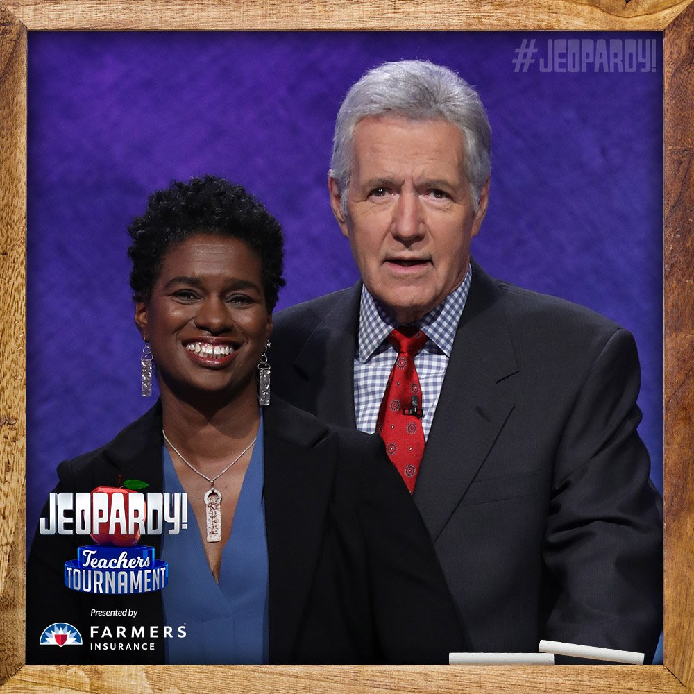 Ms. Eason on Jeopardy 5/8/2018
