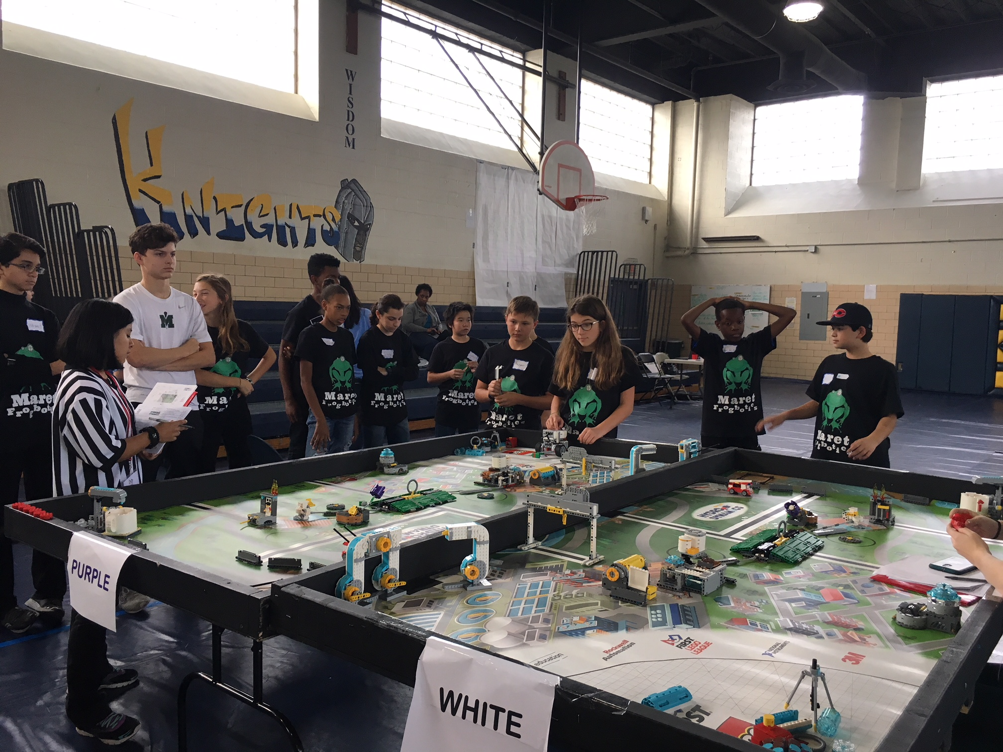Middle School Robotics Competition